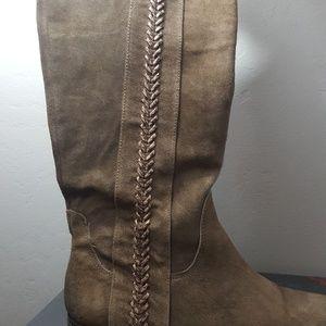 "Carlos Santana Arcadia Boots 14.5""/14"" Size 8.5"